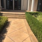 Concrete Walkway Finish